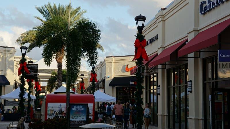 Έξοδοι του Palm Beach στο δυτικό Palm Beach, Φλώριδα στοκ φωτογραφία