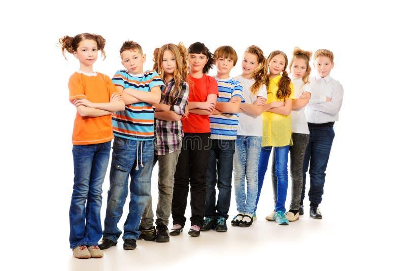Έξυπνα παιδιά στοκ εικόνα με δικαίωμα ελεύθερης χρήσης