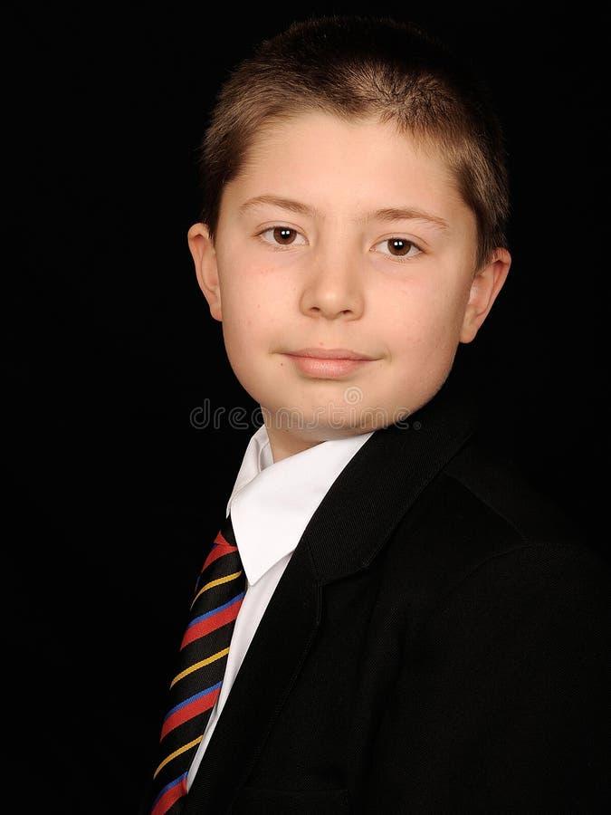 έξυπνες νεολαίες πορτρέτου αγοριών στοκ φωτογραφία με δικαίωμα ελεύθερης χρήσης