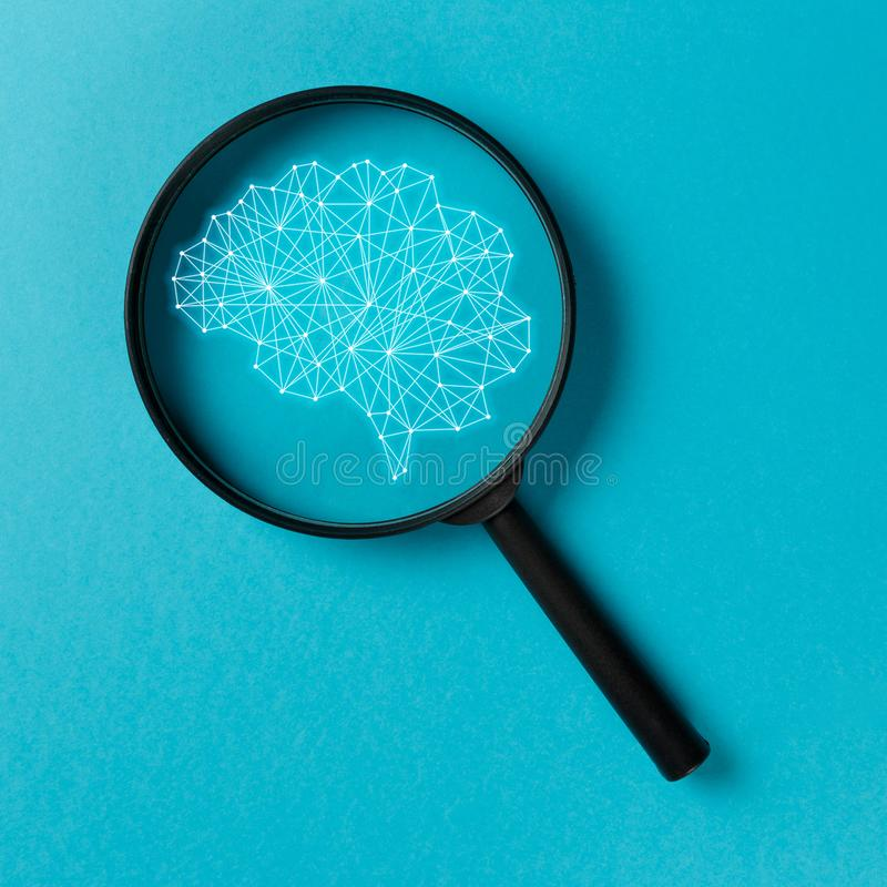Έξυπνη αναζήτηση έννοιας απεικόνιση αποθεμάτων