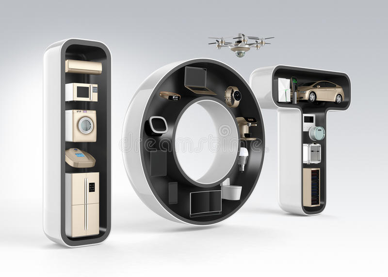 Έξυπνη συσκευή στη λέξη IoT