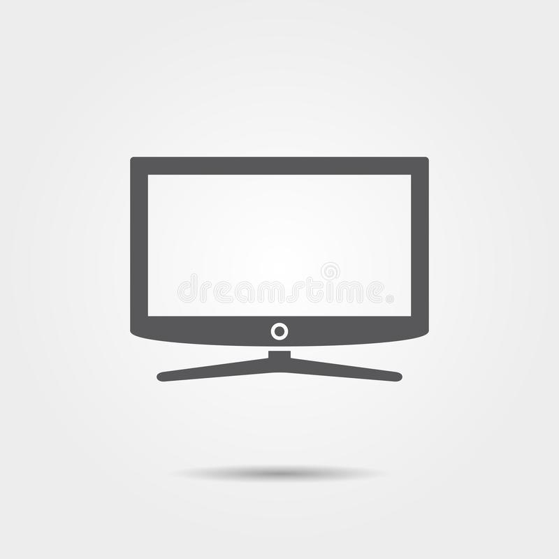 Έξυπνο εικονίδιο TV απεικόνιση αποθεμάτων