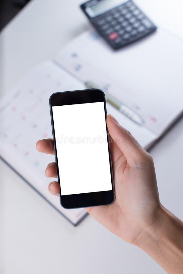 Έξυπνο διάστημα τηλεφωνικών αντιγράφων στοκ φωτογραφία με δικαίωμα ελεύθερης χρήσης