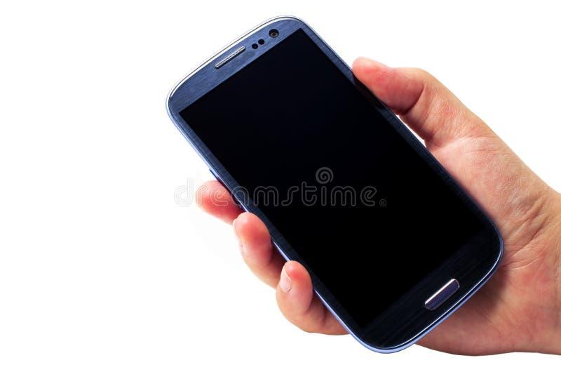 Έξυπνο τηλέφωνο στοκ εικόνες