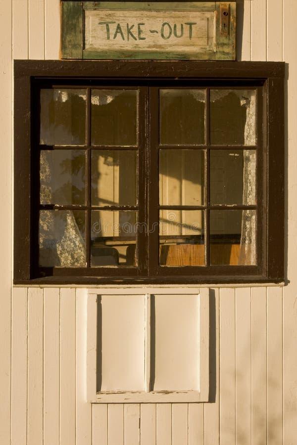 έξω πάρτε το παράθυρο στοκ εικόνες με δικαίωμα ελεύθερης χρήσης