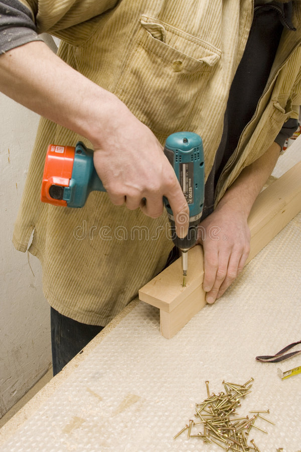 έπιπλα ο ξυλουργός του π στοκ εικόνα με δικαίωμα ελεύθερης χρήσης