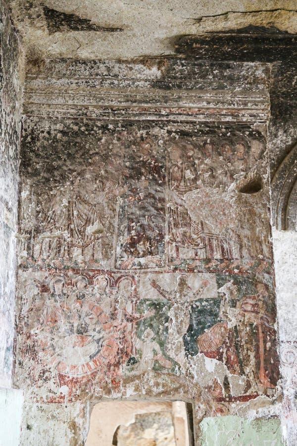Έργα ζωγραφικής στην εκκλησία του ST John ο βαπτιστικός, Cappadocia, Τουρκία στοκ φωτογραφία με δικαίωμα ελεύθερης χρήσης