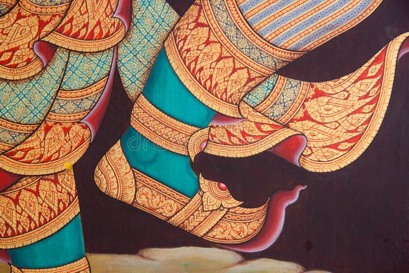 έργα ζωγραφικής Ταϊλανδός  στοκ φωτογραφία
