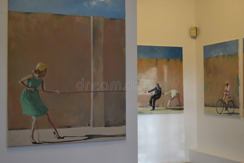 Έργα ζωγραφικής στοκ φωτογραφία με δικαίωμα ελεύθερης χρήσης