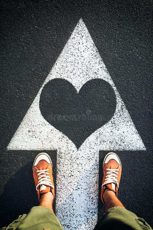 Έρευνα για την αγάπη στοκ εικόνα