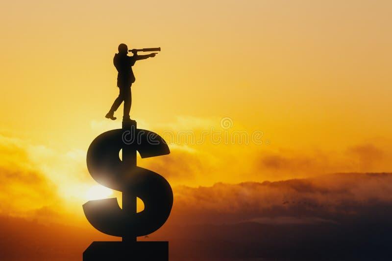 Έρευνα και έννοια πλούτου στοκ εικόνες με δικαίωμα ελεύθερης χρήσης
