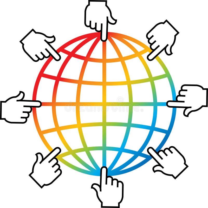 έρευνα λογότυπων απεικόνιση αποθεμάτων