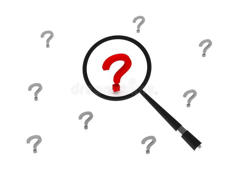 Download Έρευνα της έννοιας απεικόνιση αποθεμάτων. εικονογραφία από προβλήματα - 13175696