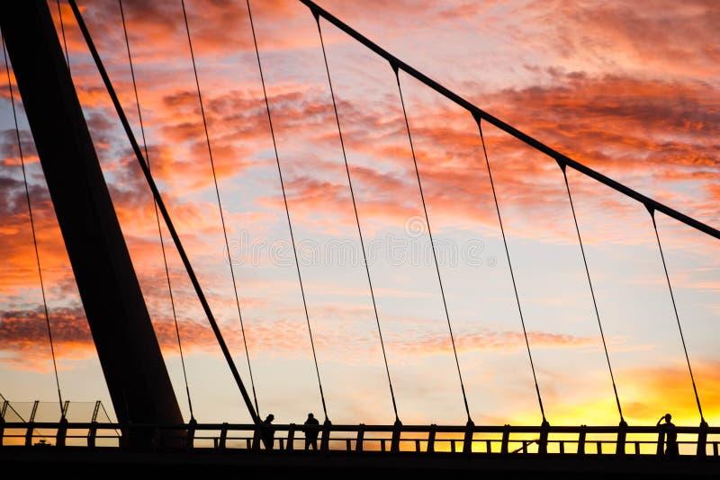 Έρευνα του ηλιοβασιλέματος στοκ φωτογραφία με δικαίωμα ελεύθερης χρήσης