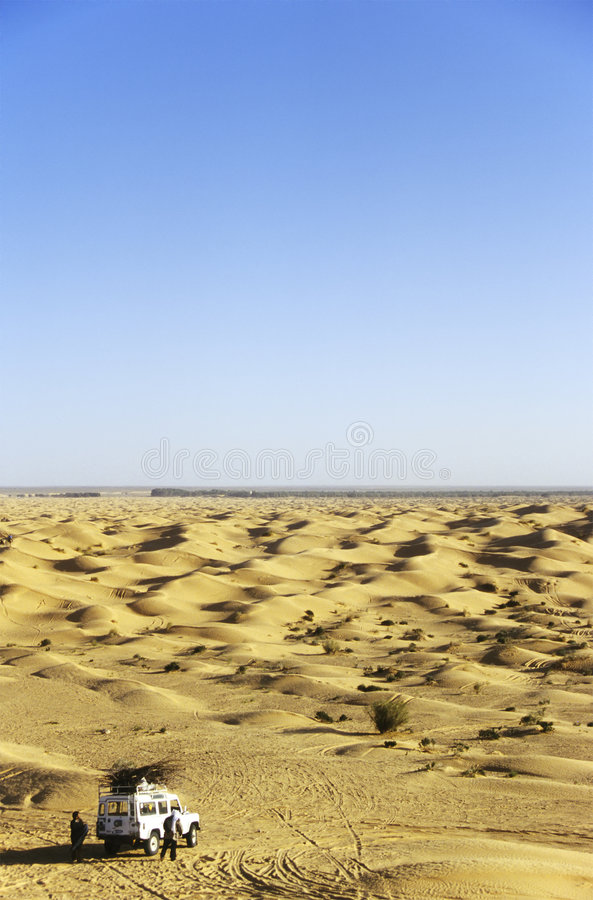 έρημος αυτοκινήτων από το &del στοκ φωτογραφία