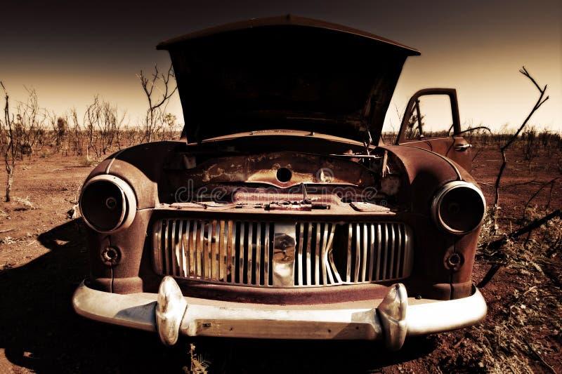 έρημος αυτοκινήτων παλαι στοκ εικόνα με δικαίωμα ελεύθερης χρήσης