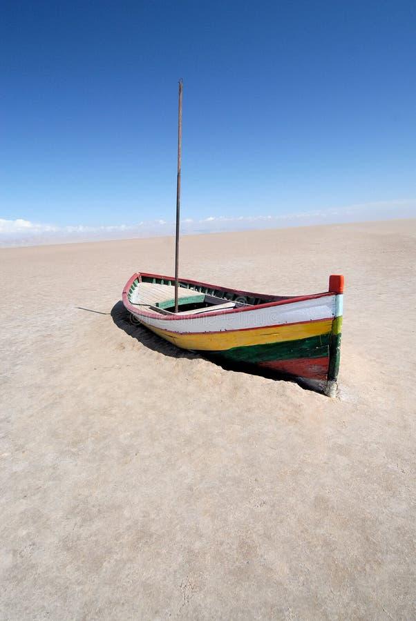 έρημος βαρκών στοκ εικόνα
