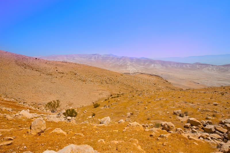 έρημος Ισραήλ στοκ φωτογραφίες