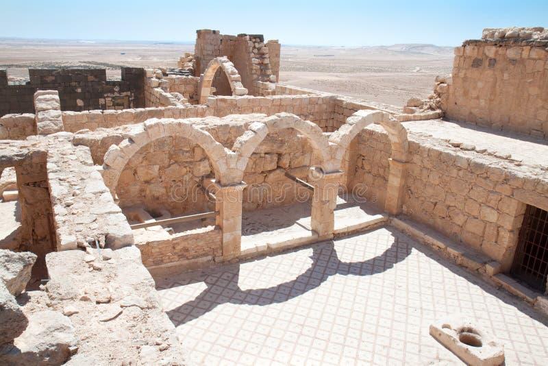 έρημος κάστρων Al hallabat qasr στοκ φωτογραφία με δικαίωμα ελεύθερης χρήσης