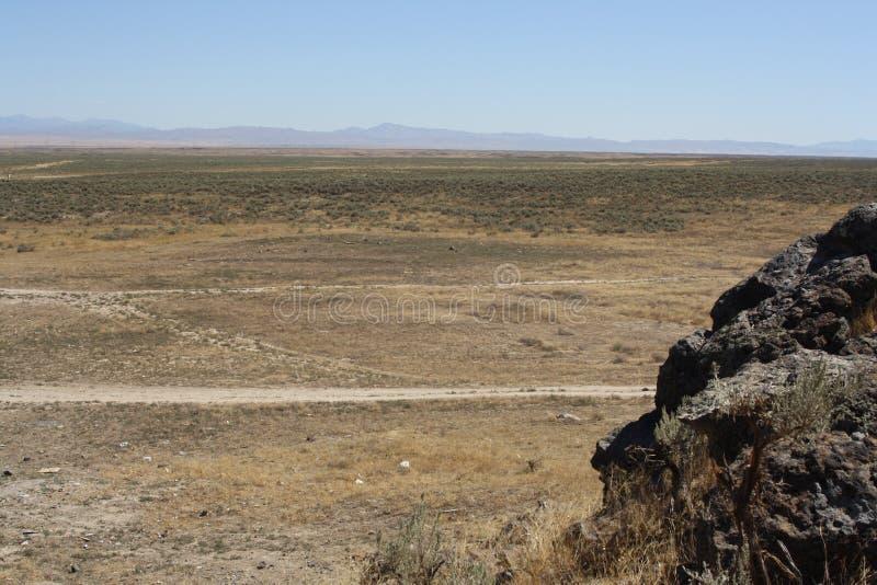 έρημος λεκανών μεγάλη στοκ εικόνες