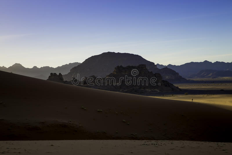 Έρημος Λιβύη στοκ φωτογραφίες