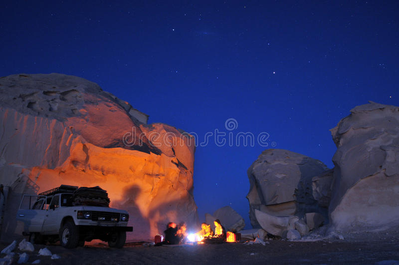 έρημος πυρών προσκόπων στοκ εικόνες
