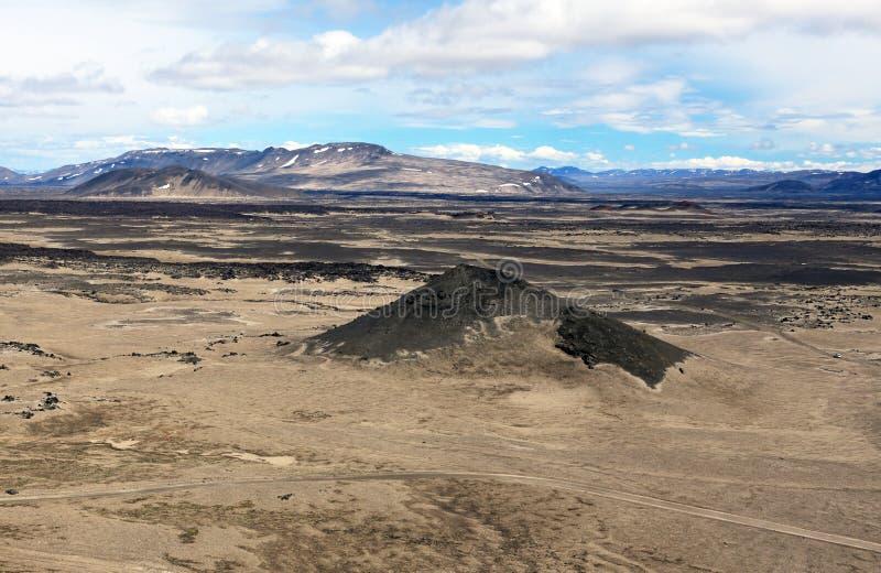 Έρημος στην περιοχή Askja στοκ φωτογραφία με δικαίωμα ελεύθερης χρήσης