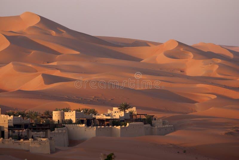 Έρημος του Αμπού Ντάμπι στοκ φωτογραφία με δικαίωμα ελεύθερης χρήσης