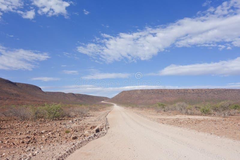 Έρημος Road στοκ εικόνα