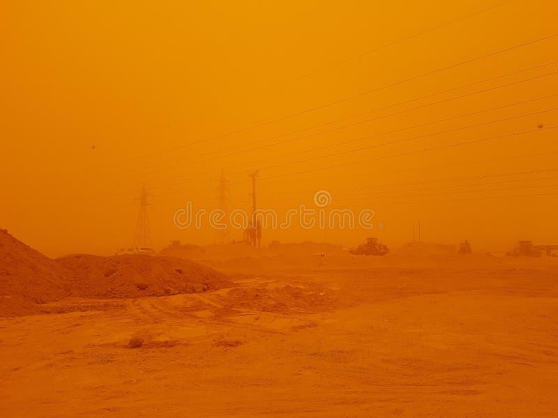 Έρημος Strom στοκ εικόνα