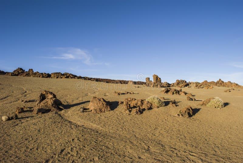 Έρημος (Teide - Tenerife) στοκ φωτογραφίες