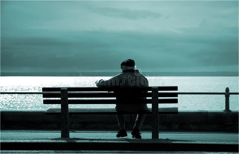 έτη λυκόφατος στοκ φωτογραφία με δικαίωμα ελεύθερης χρήσης