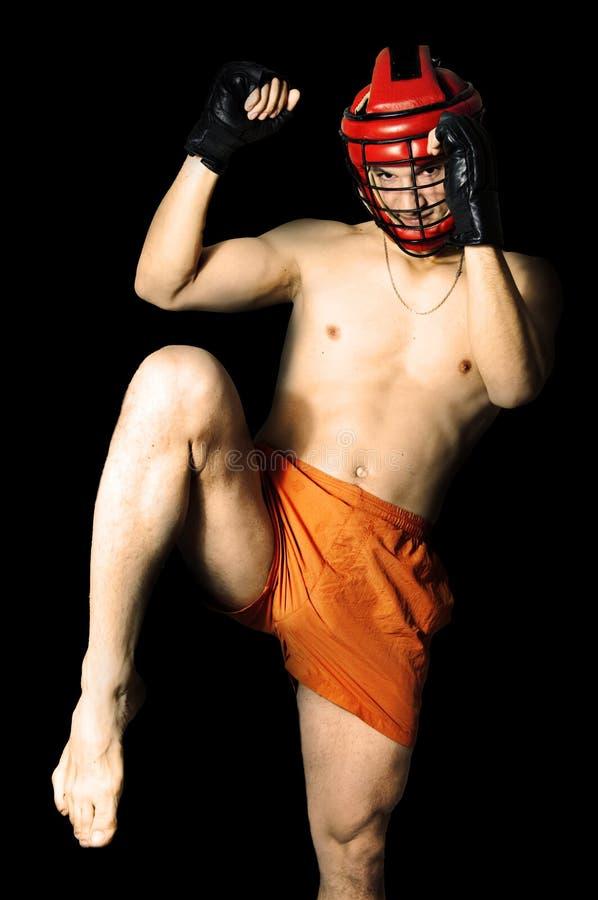 έτοιμος αθλητισμός γονάτ&o στοκ φωτογραφίες