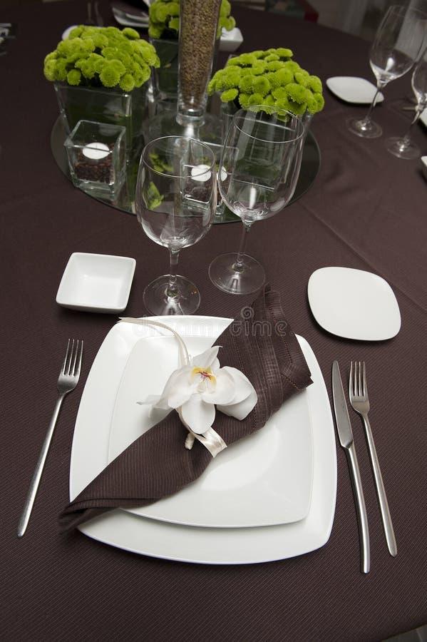 έτοιμος επιτραπέζιος γάμ&omi στοκ εικόνες