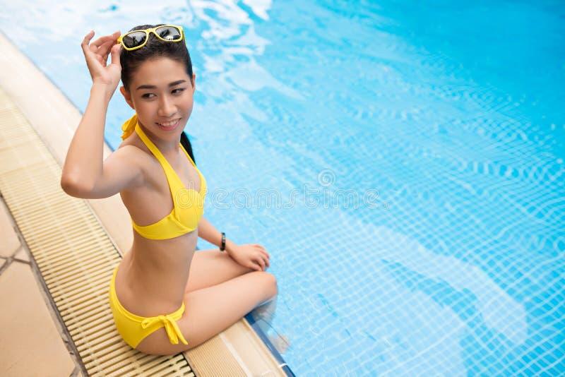 Έτοιμο για να πρέπει να κολυμπήσει στοκ εικόνα