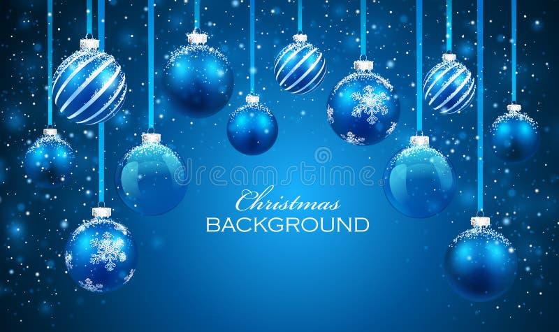 έτος Χριστουγέννων 2007 σφαιρών απεικόνιση αποθεμάτων