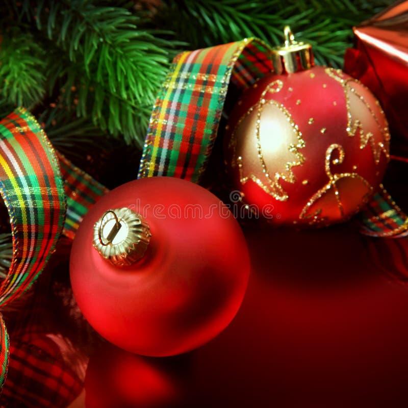 έτος Χριστουγέννων 2007 σφαιρών στοκ εικόνα με δικαίωμα ελεύθερης χρήσης