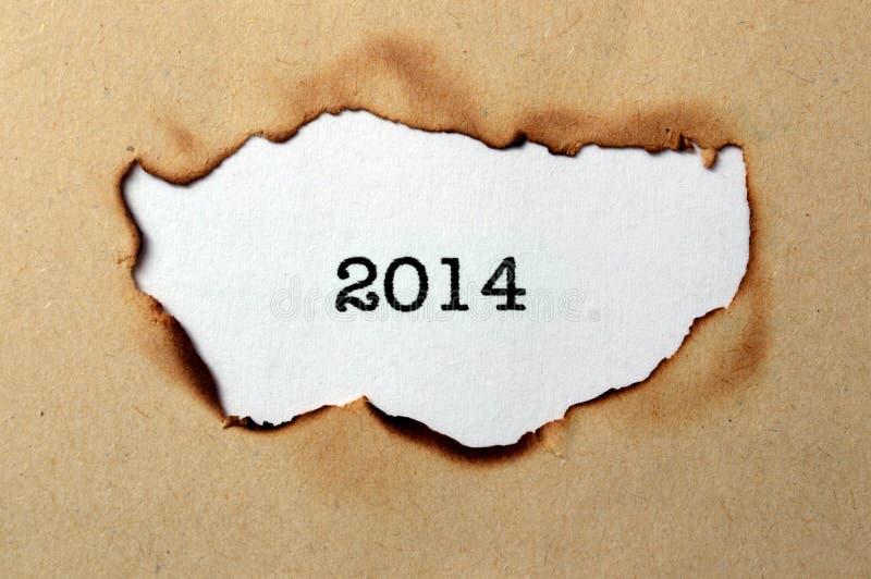 Έτος 2014 στοκ εικόνες