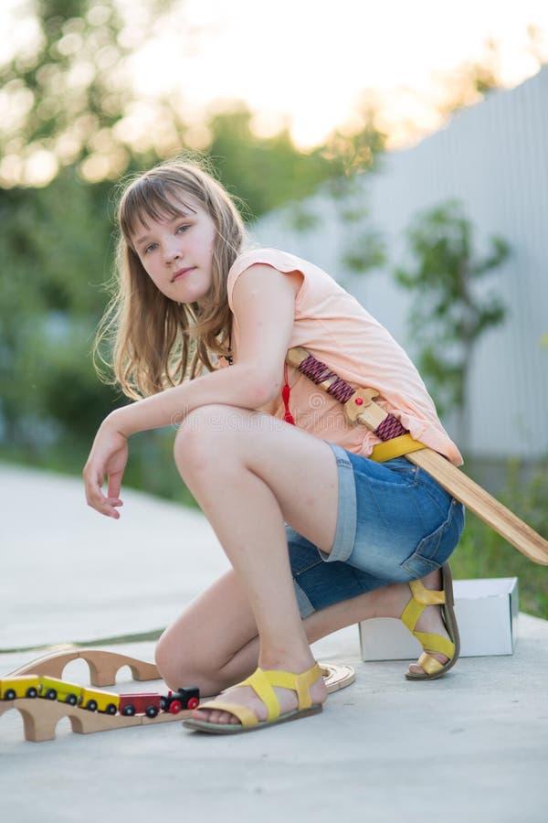 Έφηβη δέκα τρία χρονών στοκ φωτογραφίες