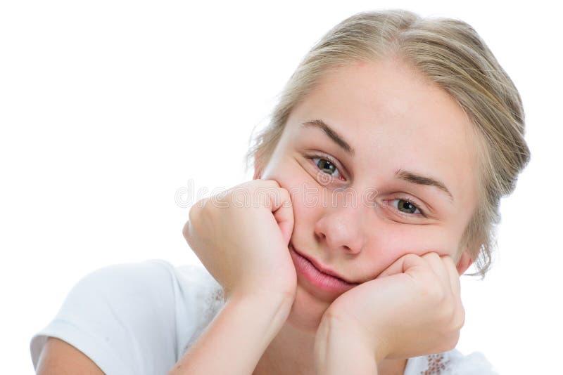 Έφηβη που τρυπιέται στοκ φωτογραφία με δικαίωμα ελεύθερης χρήσης