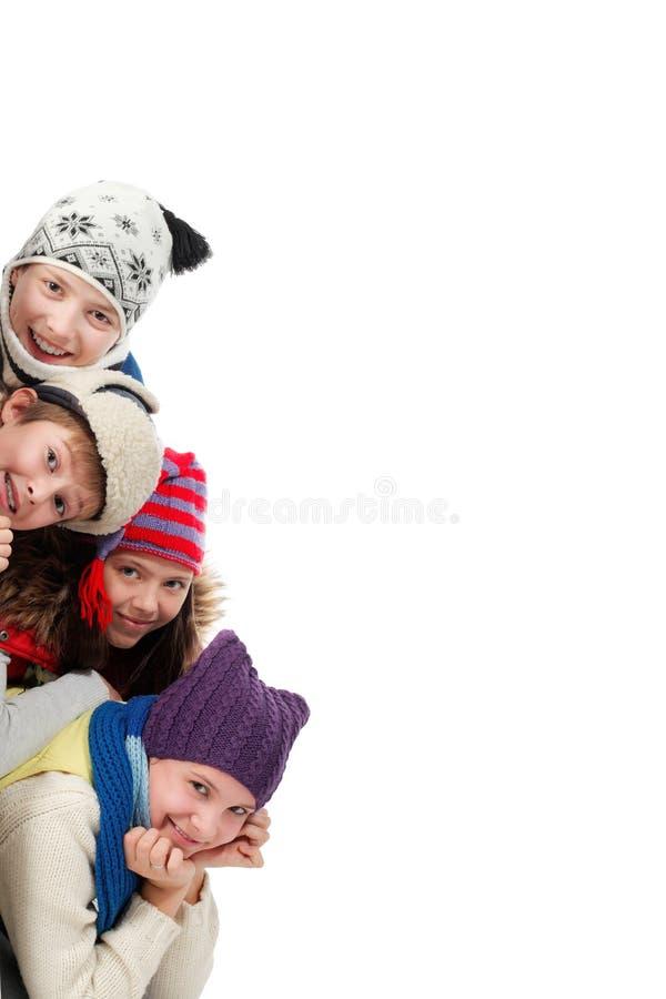 έφηβοι χαρτονιών στοκ φωτογραφίες με δικαίωμα ελεύθερης χρήσης