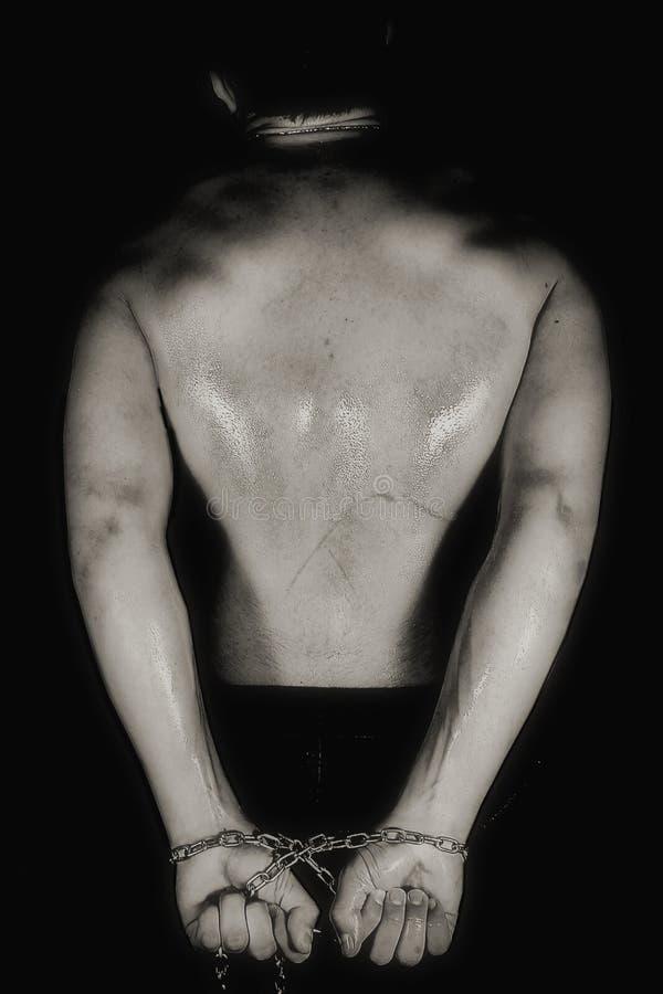 έφηβος αλυσίδων στοκ φωτογραφία με δικαίωμα ελεύθερης χρήσης