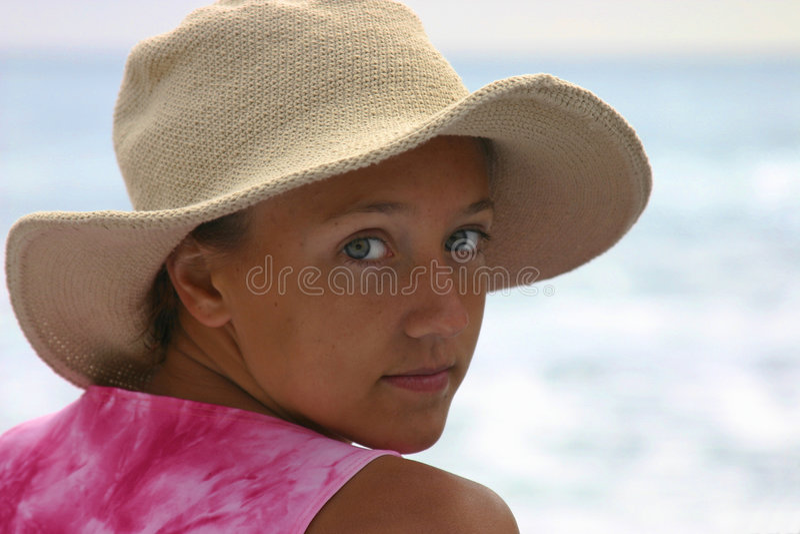 Download έφηβος κοριτσιών στοκ εικόνα. εικόνα από κορίτσι, κυματωγή - 101433