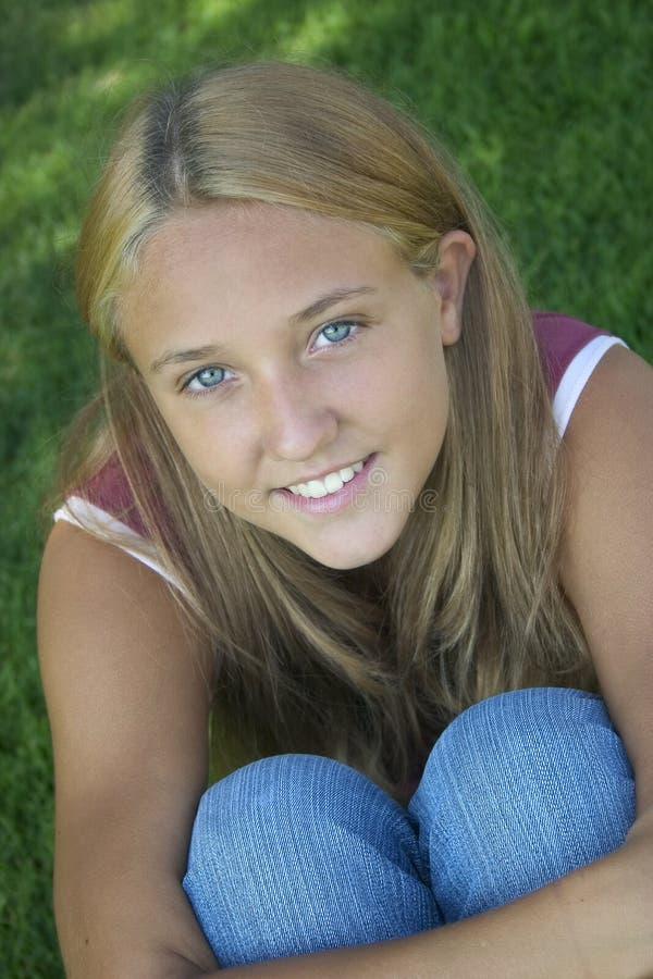 έφηβος κοριτσιών στοκ εικόνα με δικαίωμα ελεύθερης χρήσης