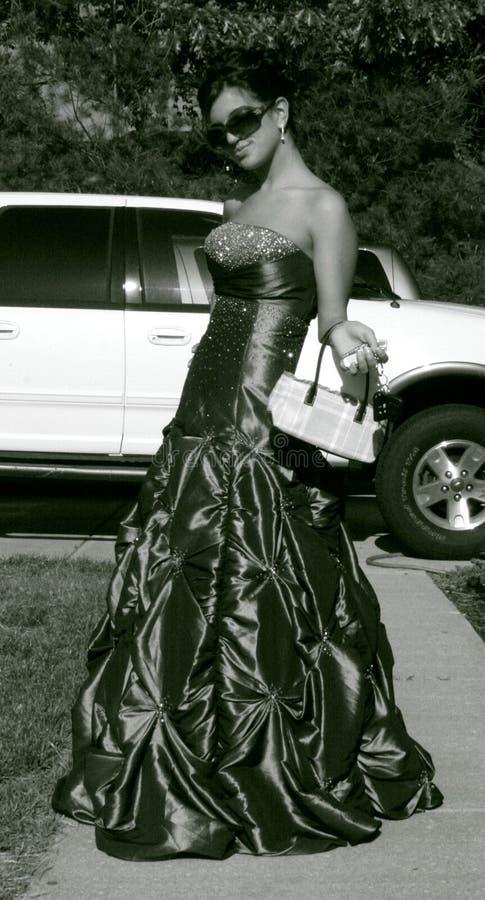 έφηβος μόδας prom στοκ εικόνες με δικαίωμα ελεύθερης χρήσης