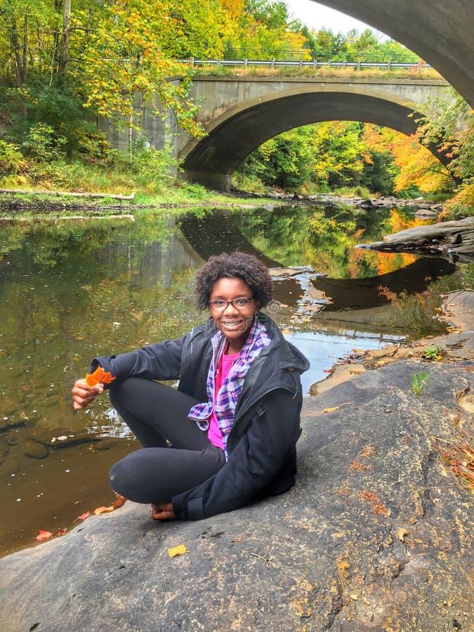 Έφηβος φθινοπώρου στοκ φωτογραφία με δικαίωμα ελεύθερης χρήσης
