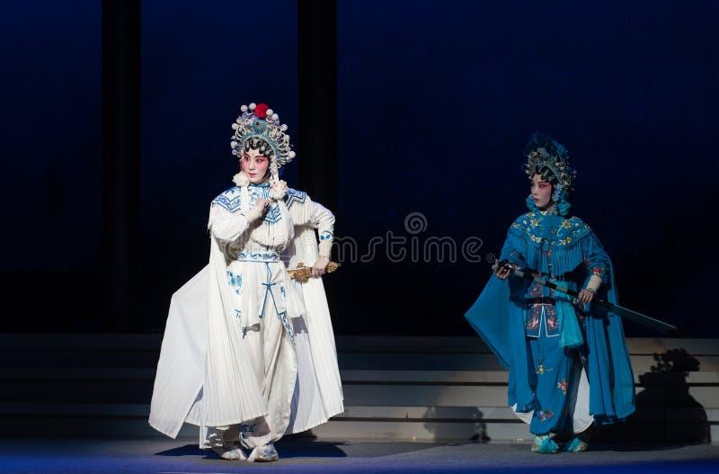 """Έχετε τον ίδιο εχθρό και την έχθρα-έβδομη αποσύνθεση πράξεων οικογένεια-Kunqu Opera""""Madame άσπρο Snake† στοκ φωτογραφία με δικαίωμα ελεύθερης χρήσης"""