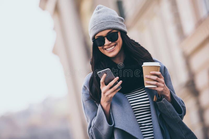 Έχετε το νέο μήνυμα! στοκ εικόνες