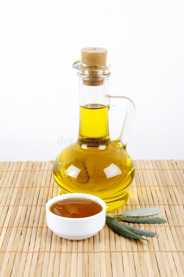 Έλαιο και μέλι ελιών στοκ φωτογραφίες με δικαίωμα ελεύθερης χρήσης