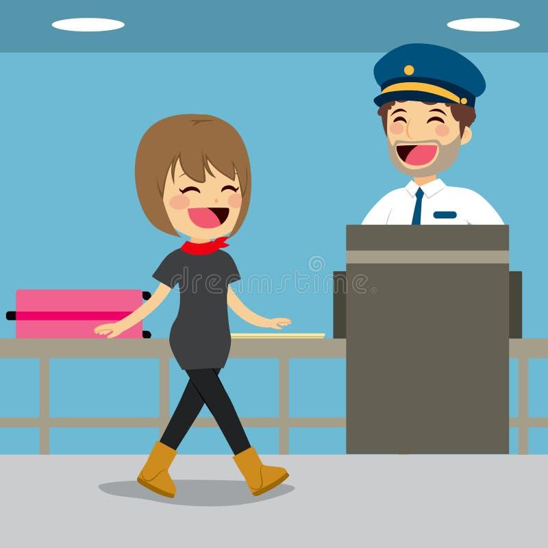 Έλεγχος ελέγχων ασφαλείας ελεύθερη απεικόνιση δικαιώματος